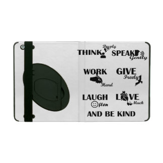 Strong people iPad 2/3/4 Case with Kickstand iPad Cases