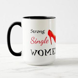 Strong single women mug