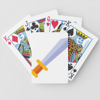 Strong Sword Bicycle Playing Cards