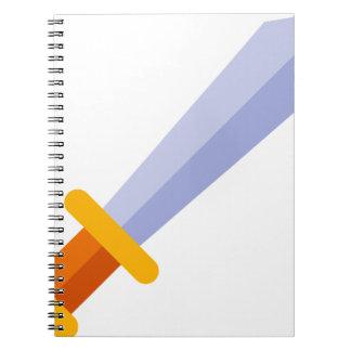 Strong Sword Spiral Notebook