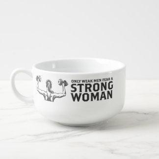 Strong Woman Soup Mug