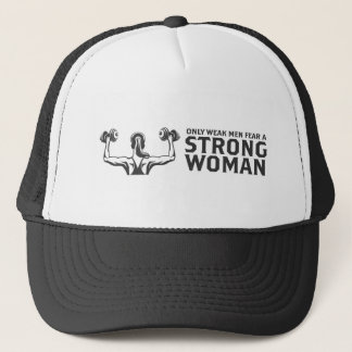 Strong Woman Trucker Hat