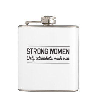 Strong Women Hip Flask