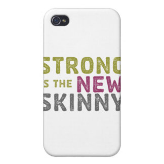 Stronge is the New Skinny - Sketch iPhone 4 Cover