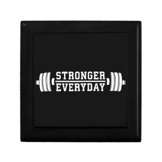 Stronger Everyday - Workout Inspirational Gift Box