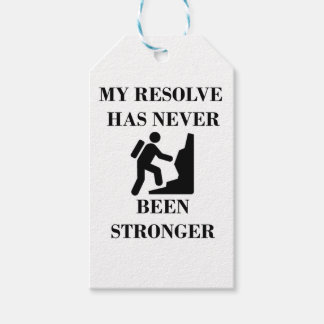 STRONGER THAN EVER PACK OF GIFT TAGS