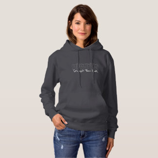 Stronger Than Ever Women's Gray Hoodie