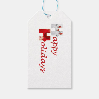 Stronger Together Happy Holidays Gift Tags