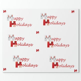 Stronger Together Happy Holidays Wrapping Paper