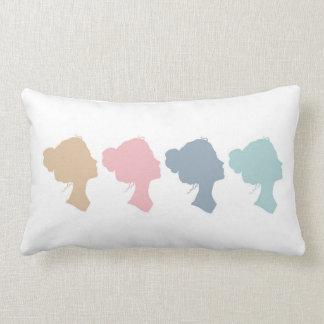 Stronger Together - Pastels Lumbar Pillow