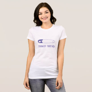 Stronger Together Safety Pin Tee