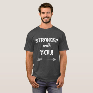 STRONGER with You Dad Charcoal Heather Tshirt
