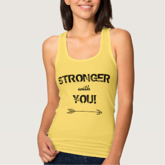 STRONGER with You Girlfriend Tank Top Racerback