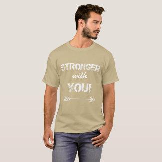 STRONGER with You Godfather Pebble Beige Tshirt