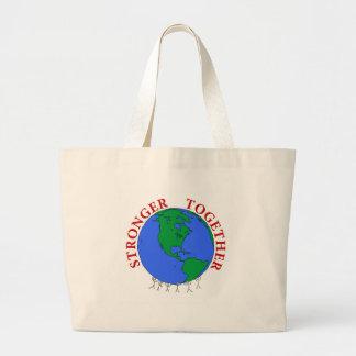 strongerTogether Large Tote Bag