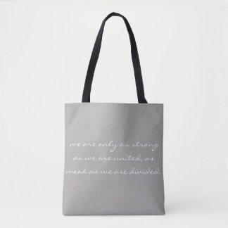 strongly united tote