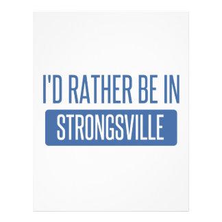 Strongsville Letterhead