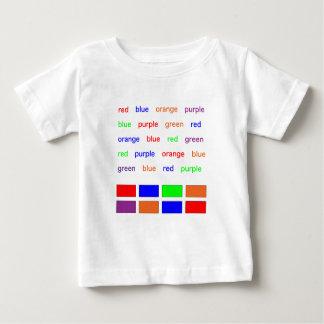 Stroop Test Baby T-Shirt