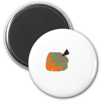 Strow character comedic from cartoon 2 inch round magnet