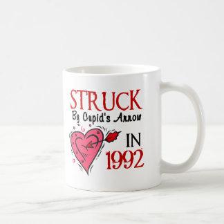 Struck By Cupid's Arrow In 1992 Classic White Coffee Mug
