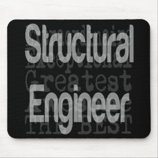 Structural Engineer Extraordinaire Mouse Pad