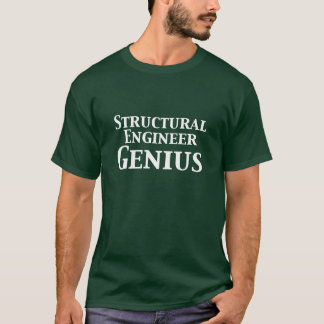 Structural Engineer Genius Gifts T-Shirt
