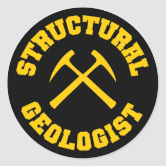 Structural Geologist Sticker