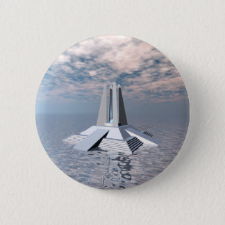 Structural Tower of Atlantis 2 Inch Round Button