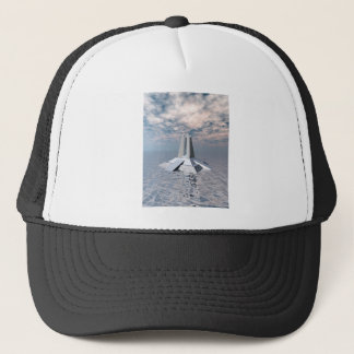 Structural Tower of Atlantis Trucker Hat