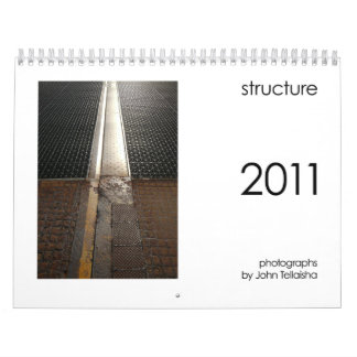 structure 2011 wall calendars