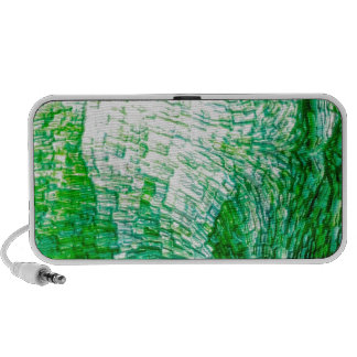 structure green notebook speakers