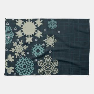 Structure snow kitchen towel
