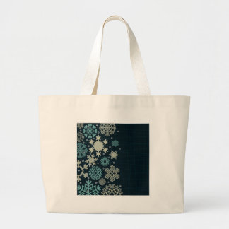 Structure snow large tote bag