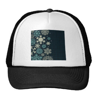 Structure snow trucker hat