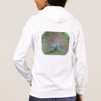 Strutting Peacock Hoodie