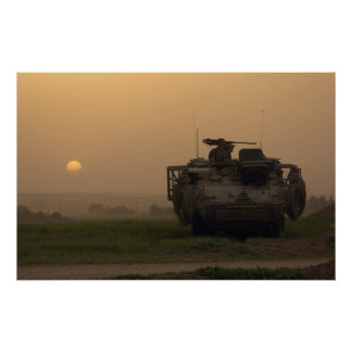 Stryker Infantry Carrier Vehicle Poster