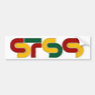 sts9 rasta bumper sticker