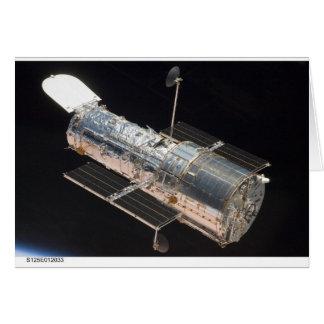 STS-125 Atlantis Hubble Card
