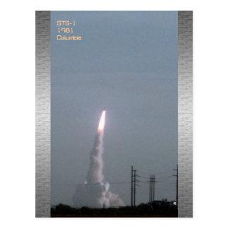 STS-1 Postcard