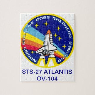 STS-27 Atlantis: OV-104 Puzzle