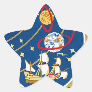 STS-30 Atlantis and Magellan Star Sticker