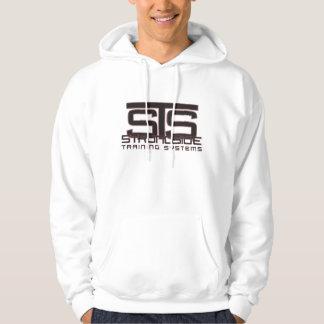 STS logo hoodie - white