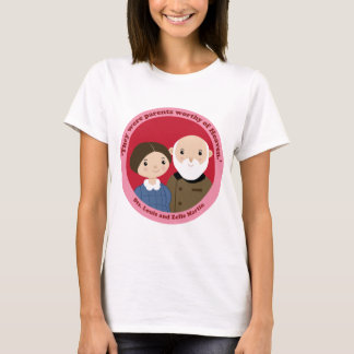 Sts. Louis and Zelie Martin T-Shirt