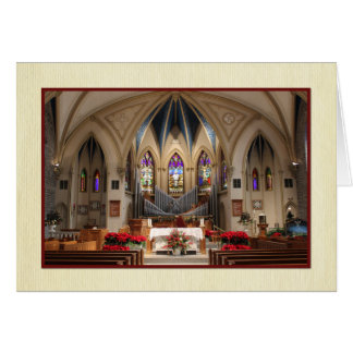 Sts. Peter and Paul Beautiful Sanctuary Christmas Card