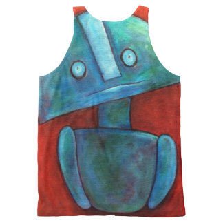 """Stuart"" - By GChristopher All-Over-Print Tank Top"