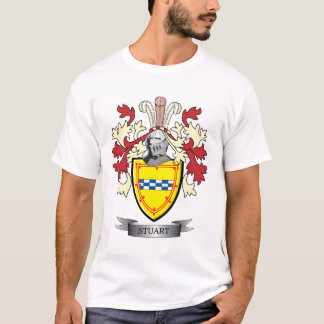 Stuart Family Crest Coat of Arms T-Shirt