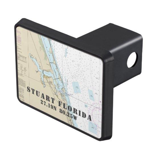 Stuart Florida Latitude Longitude Nautical Hitch Covers