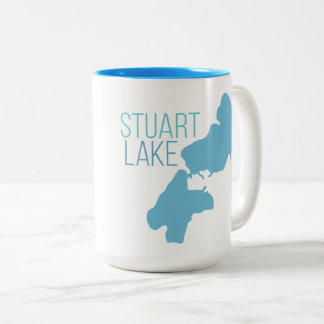 Stuart Lake Two-Tone Coffee Mug