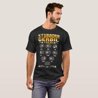 Stubborn Gerbil Tricks Pets Love Funny Tshirt