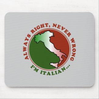 Stubborn Italian Funny Mousepad